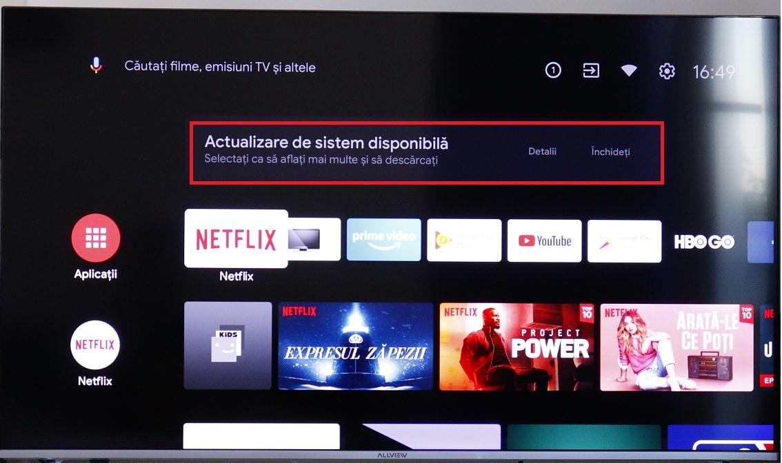 Si televizoarele Allview primesc actualizare la Android!