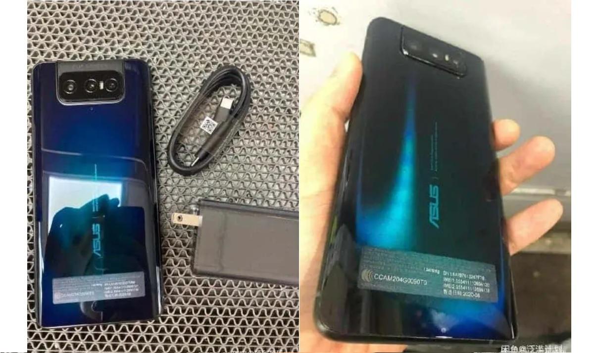 asus zenfone 7 spate Primele imagini reale cu Asus ZenFone 7, 3 camere foto principale