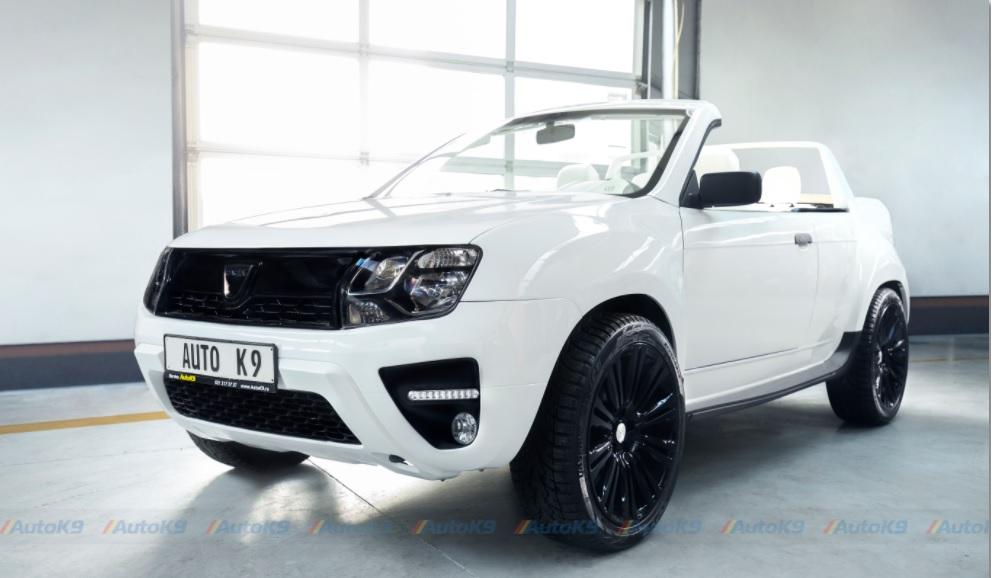 """Dacia Duster decapotabila """"Summer"""", rezultatul celor de la AutoK9"""