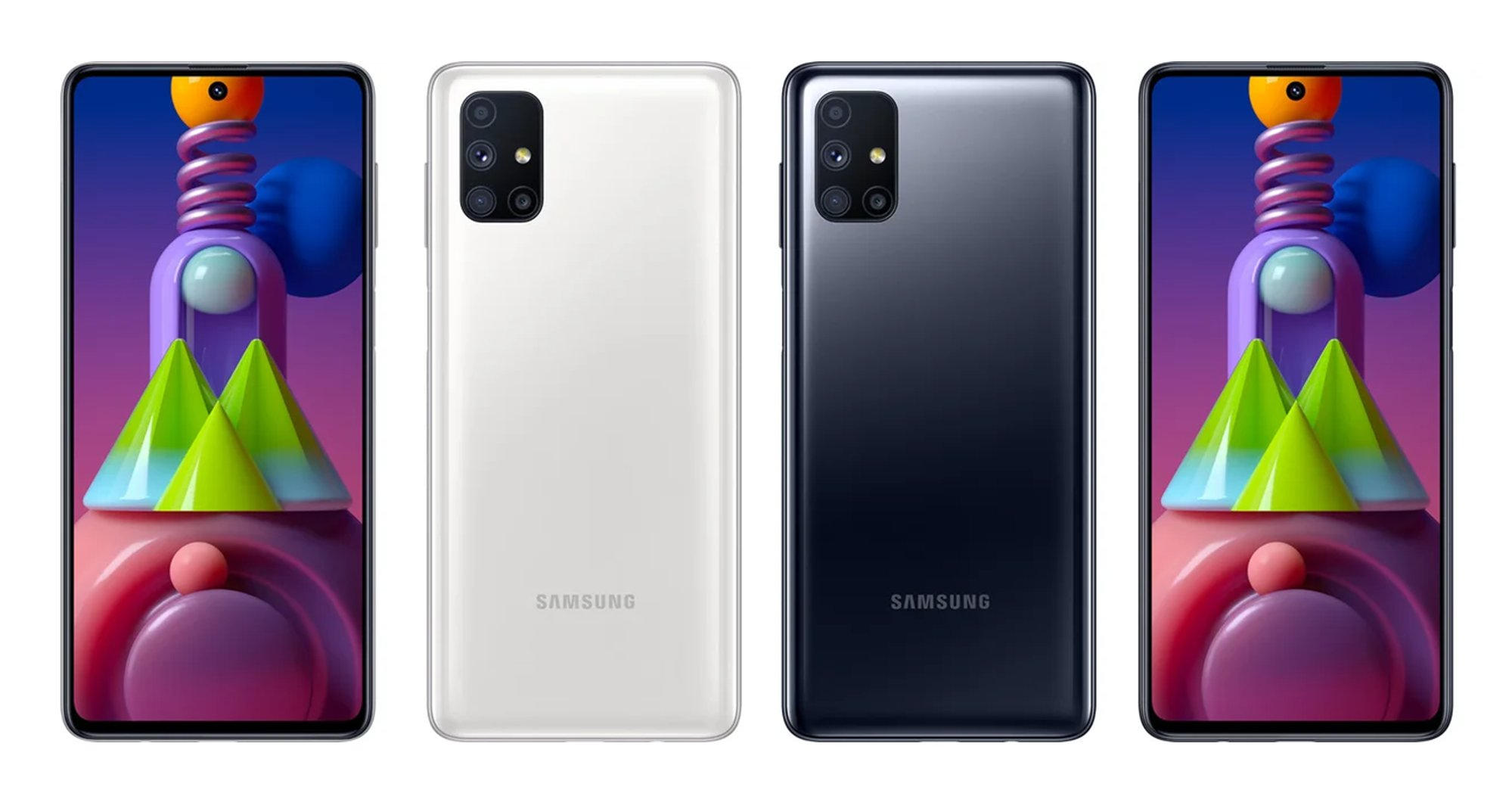 Samsung Galaxy M51 in poze oficiale, design confirmat