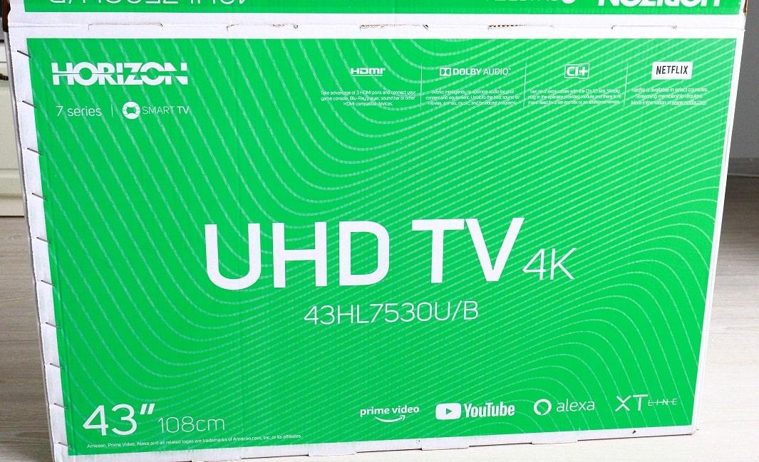 Pareri Horizon Smart TV accesibil