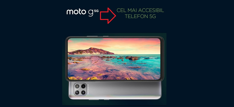 Moto G 5G cel mai ieftin 5G